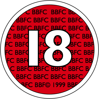 BBFC Suitable for ages 18 and older (1989–2002)